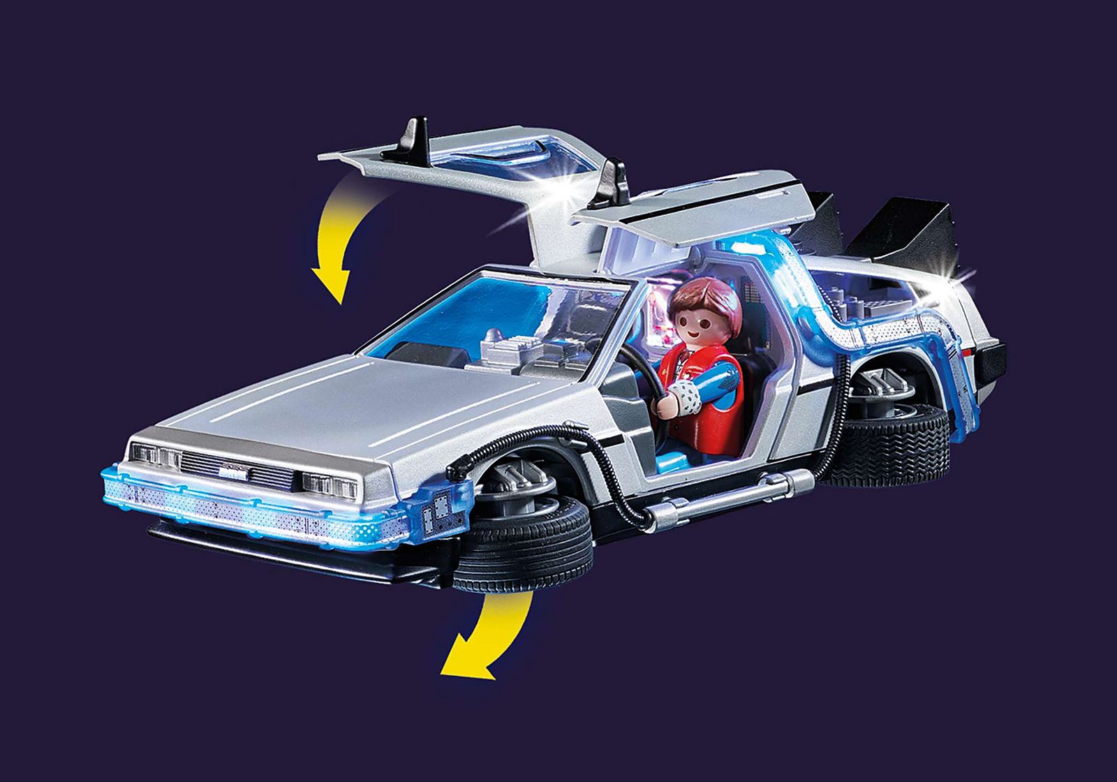 Retour vers le Futur DeLorean - PLAYMOBIL Back to the Future - 70317