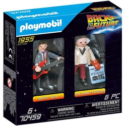 DuoPack Marty McFly & Dr. Emmet Brown - PLAYMOBIL Back to the Future - 70459