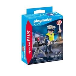 Policier avec radar - PLAYMOBIL Special Plus - 70305