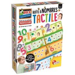 Montessori - Boîte à nombres tactile