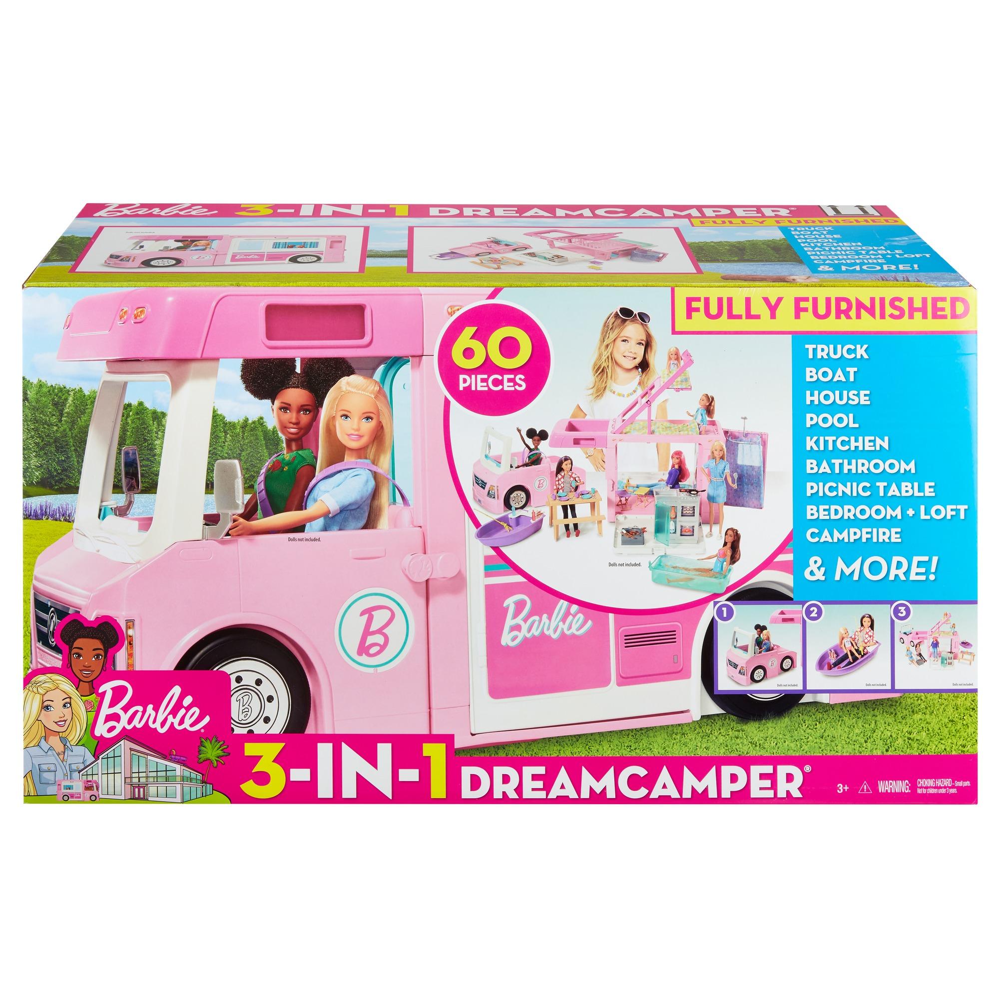 Barbie - Camping-car de rêve 3-en-1