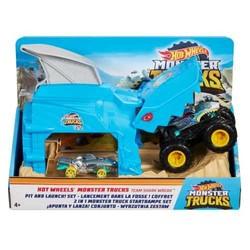 Hot Wheels Lanceur Monster Trucks