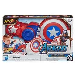 Nerf Avengers Power Moves Captain America - Lanceur de bouclier