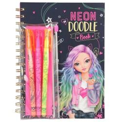 Top Model - Neon Doodle Book