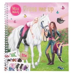 Miss Melody - Album de coloriage et de stickers