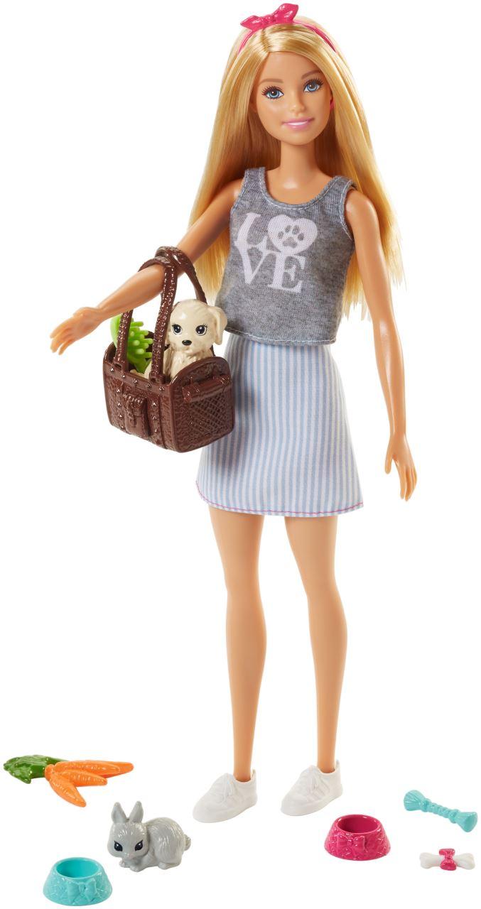 Barbie - Coffret Barbie et animaux