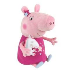 Peluche Peppa Pig  avec mascotte licorne