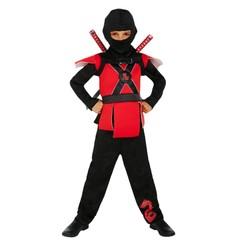 Déguisement Ninja Rouge - Taille 146