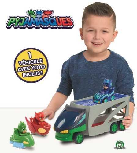 Pyjamasques - Transporteur avec véhicule