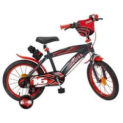 Vélo 16'' rouge et noir