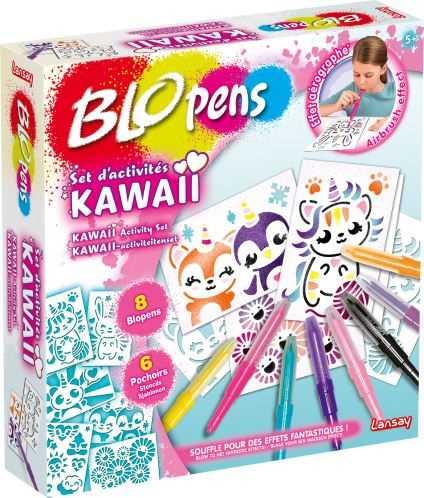 Blopens Set d activités Kawaii