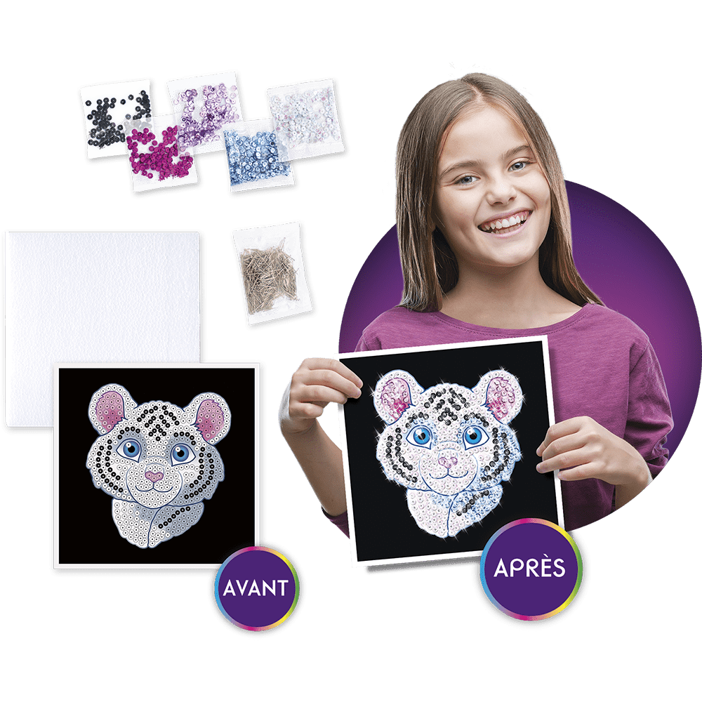 Mille et Un Sequins - Papillon ou Tigre blanc