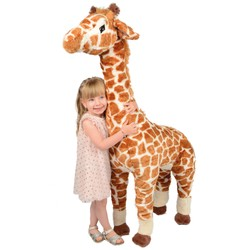 Bea la girafe en peluche