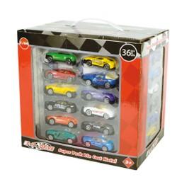 super pack de 36 voitures