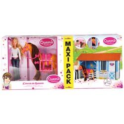 Maxi Pack Écurie de Qweenie avec poupée mannequin