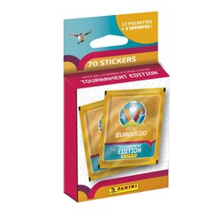 Blister 12+2 pochettes stickers UEFA EURO 2020