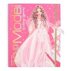 TOPModel Album à colorier Create your Wedding Special