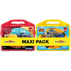 Maxi Pack Valise 12 Cubes Mickey/Cars