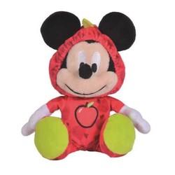 Peluche 18 cm Mickey Fruit - Pomme