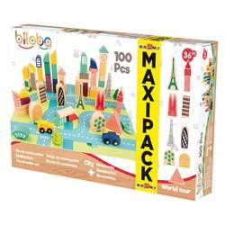 Maxi Pack Blocs en bois City & Monuments