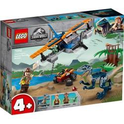 Vélociraptor : la mission de sauvetage en avion - LEGO Jurassic World - 75942
