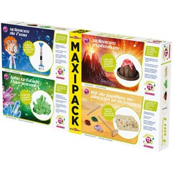 Maxi Pack - 4 activités scientifiques