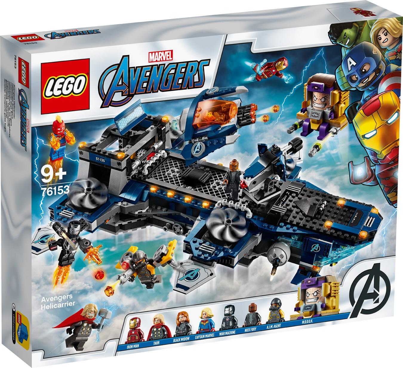 L héliporteur des Avengers - LEGO Avengers - 76153