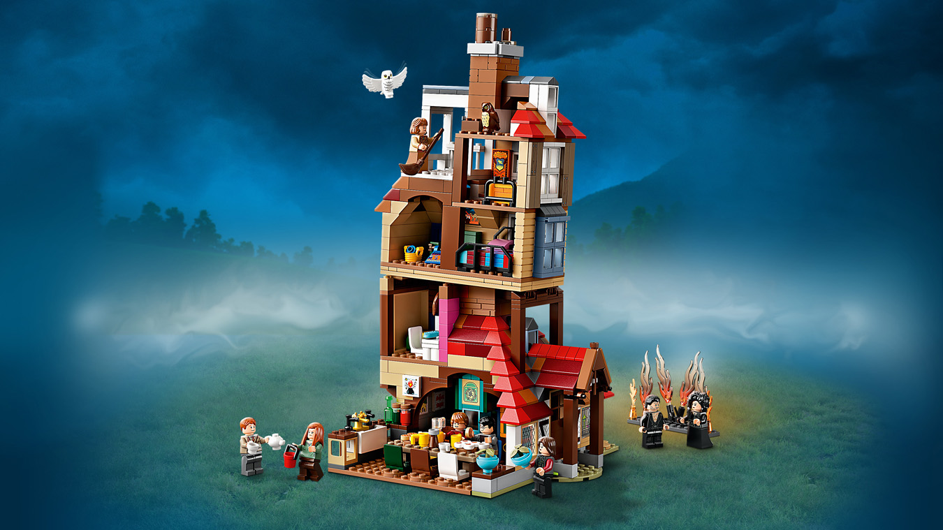 L attaque du Terrier des Weasley™ - LEGO Harry Potter - 75980