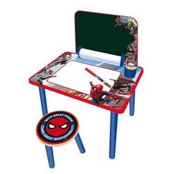 Bureau pupitre en bois Spider-Man