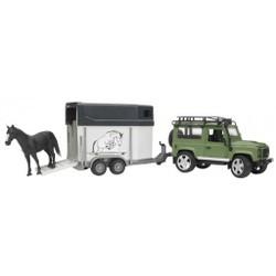 Land Rover avec van