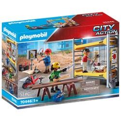 Ouvriers avec échafaudage - PLAYMOBIL City Action - 70446