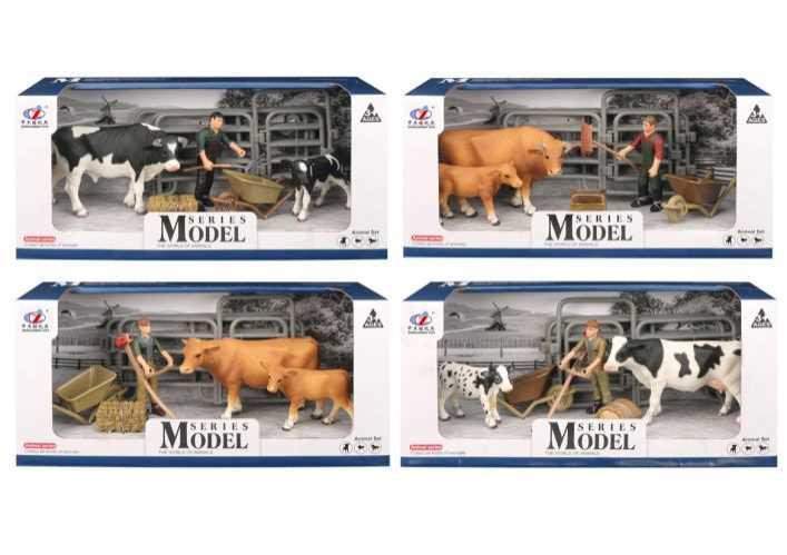 Set animaux de la ferme Deluxe