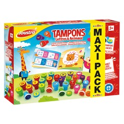 Maxi Pack - Tampons Lettres & Animaux