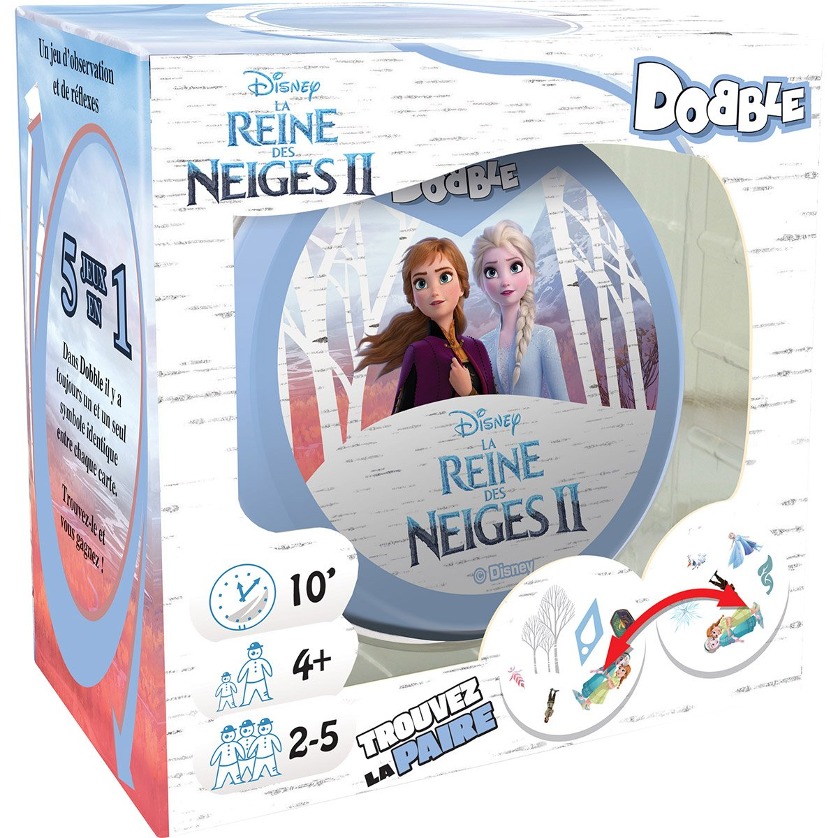 Dobble La Reine des Neiges 2