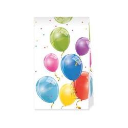 4 Pochettes cadeaux en papier Sparkling Balloons