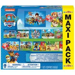 Maxi Pack 12 puzzles Pat'Patrouille