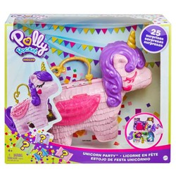 Polly Pocket - Coffret licorne en fête