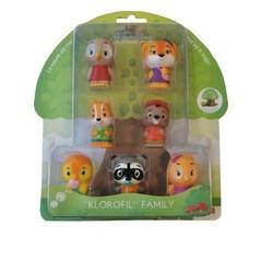 Klorofil - Pack de 7 personnages