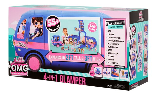 Glamper 4 en 1 LOL Surprise! O.M.G Remix