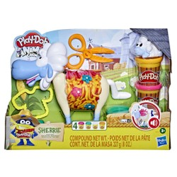 Play-Doh Animal Crew - Sherrie, brebis ébouriffée