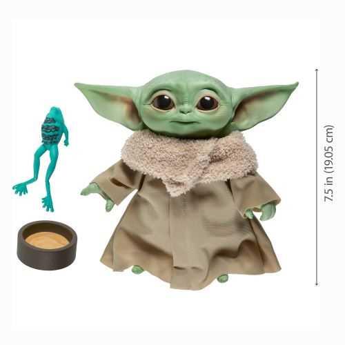 Peluche parlante bébé Yoda