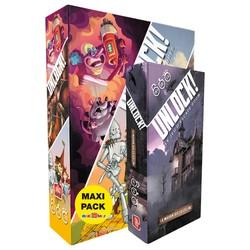 Maxi Pack Escape Game Unlock! + scénario bonus
