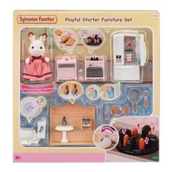Le set d'ameublement Cosy Cottage et maman lapin - Sylvanian Families - 5449