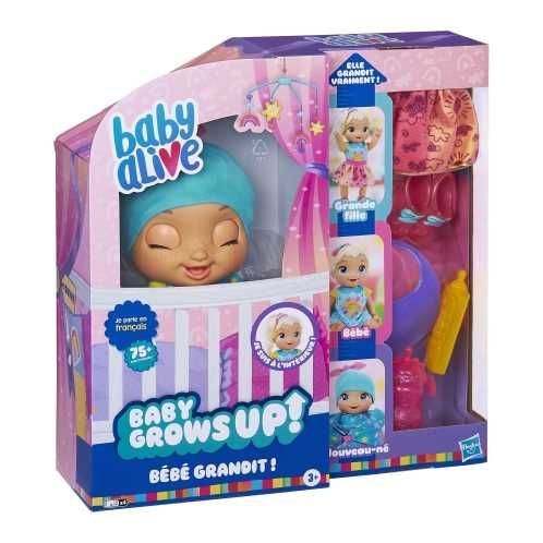 Baby Alive - Bébé Grandit !