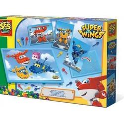 Tableau mosaïque avec cartes - Super Wings