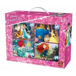 4 Puzzles Disney Princess