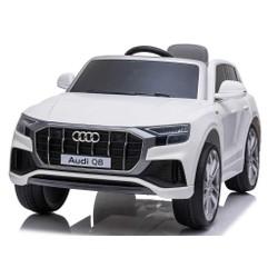 Audi Q8 blanche 12V avec télécommande parentale
