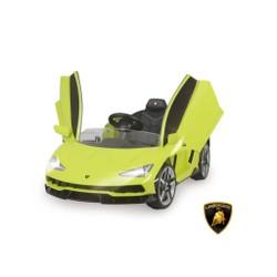Lamborghini verte 12V avec télécommande parentale