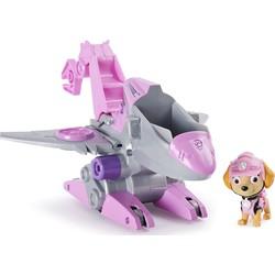 Pat' Patrouille Dino Rescue - Véhicule Deluxe + figurine Stella
