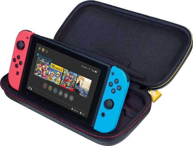 Pochette de transport Deluxe Super Mario pour console Nintendo Switch/Switch Lite